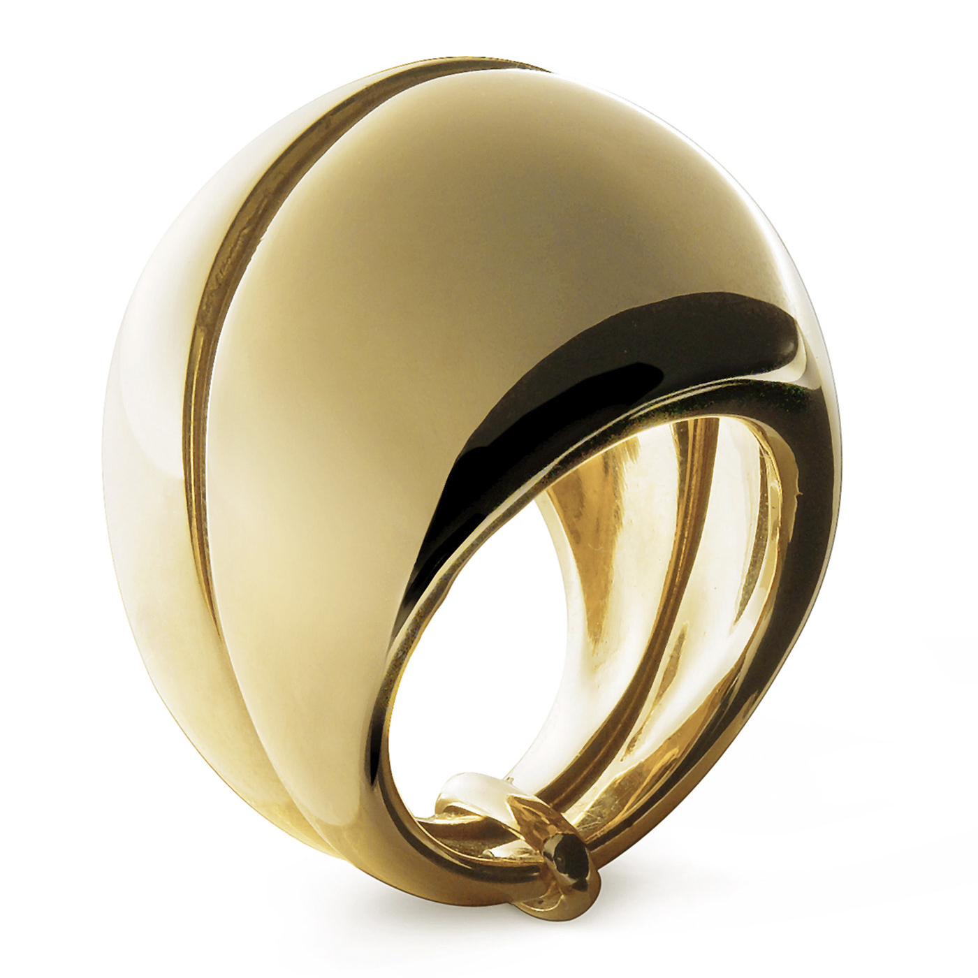 bague ronde or