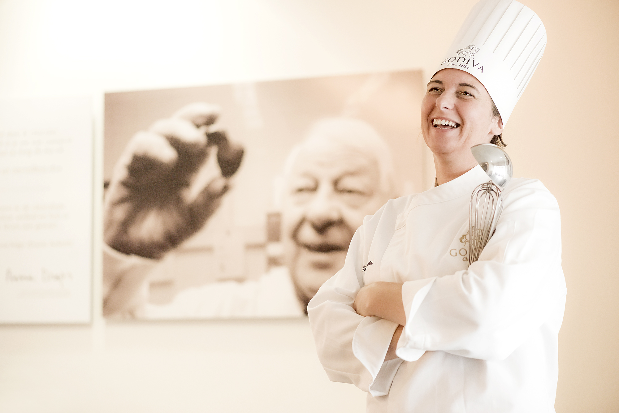 Godiva Ilse Wilmots chef chocolatier people