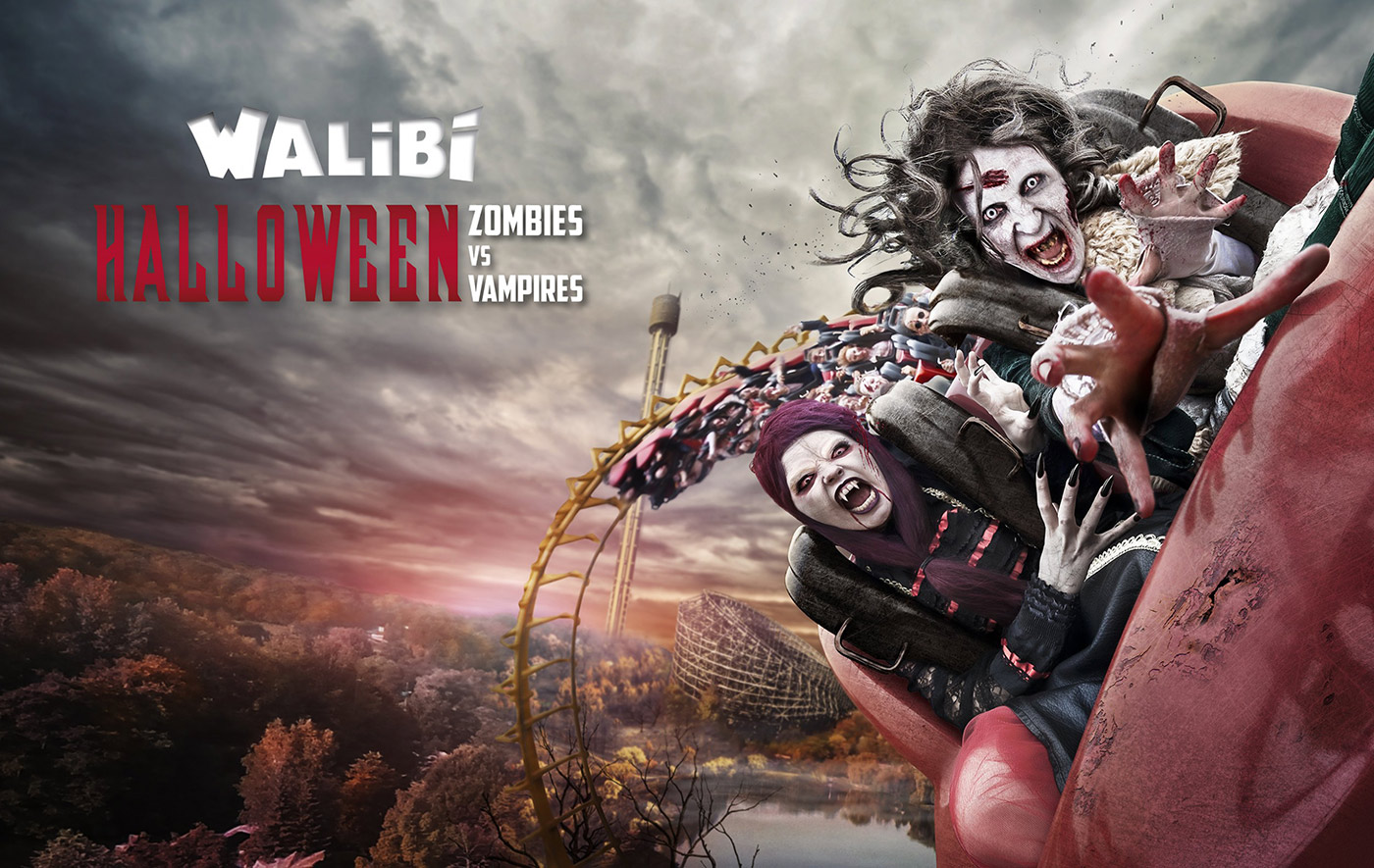 walibi halloween zombies vs vampires